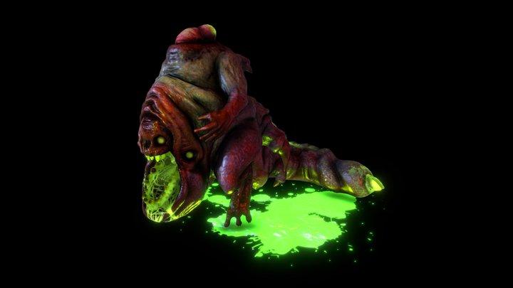 Demon Breeder Final Boss 3D Model