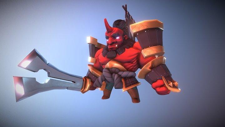 Samurai Oni 3D Model