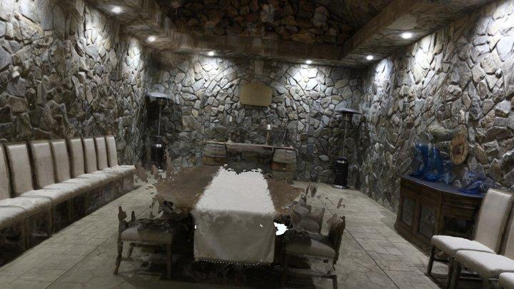 Cave Room 3D Model