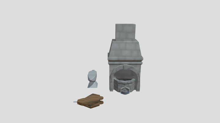 Pack Forja 3D Model