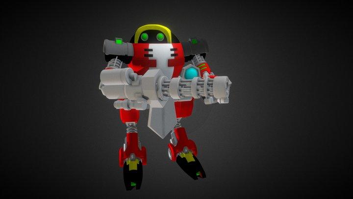 E-102 Gamma 3D Model