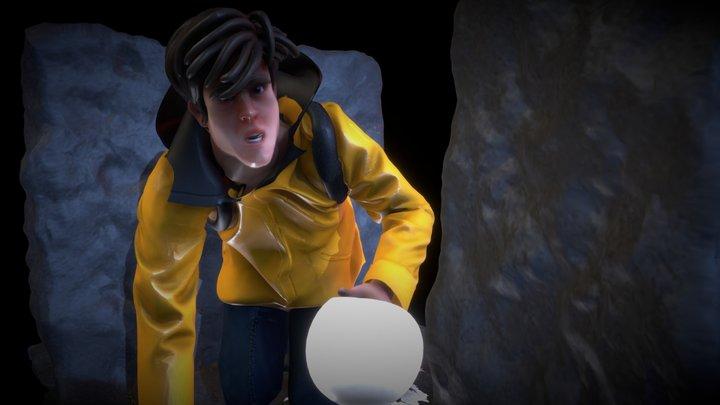 Jonas - Dark - Netflix serie 3D Model