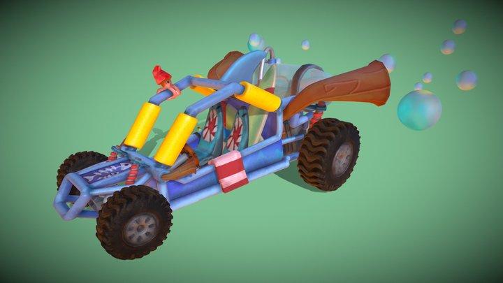 Bubble Buggy 3D Model