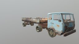 KAZ 608V Kolheeda 3D Model