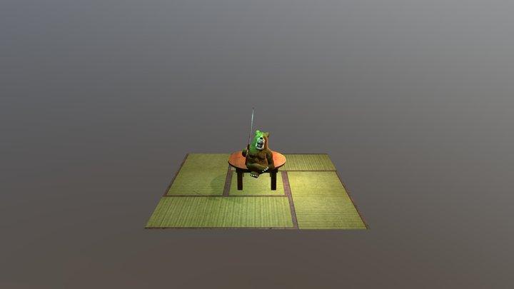 ojisan 3D Model