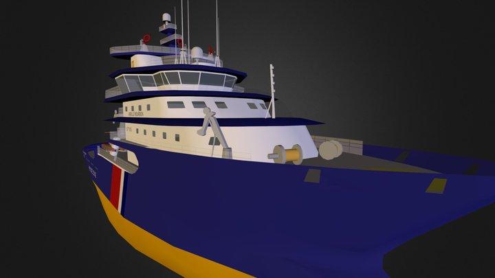 Abeille Bourbon 3D Model