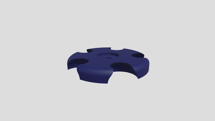 Femel ball joint for 5 connections domekit 3D Model