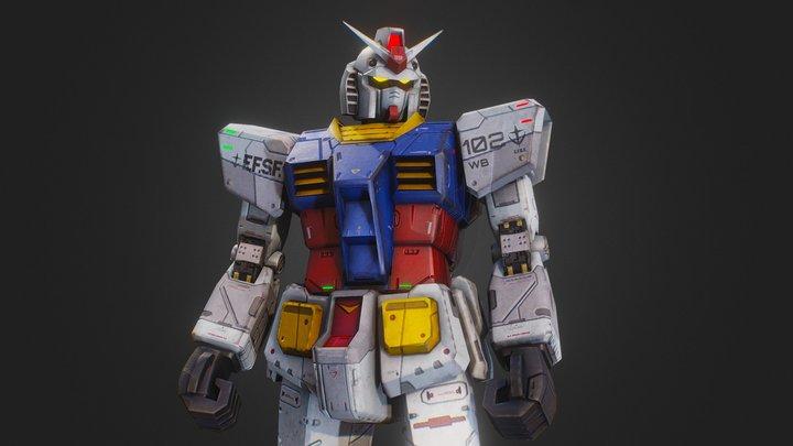 RX-78 Gundam 3D Model