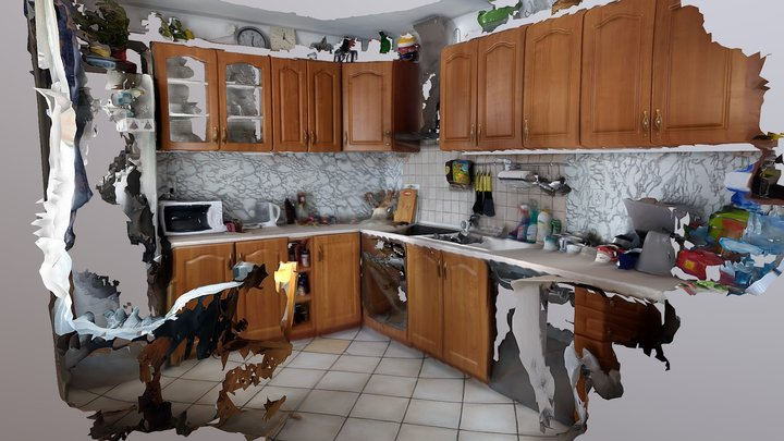 Kitchen 3D Scan 3D Model