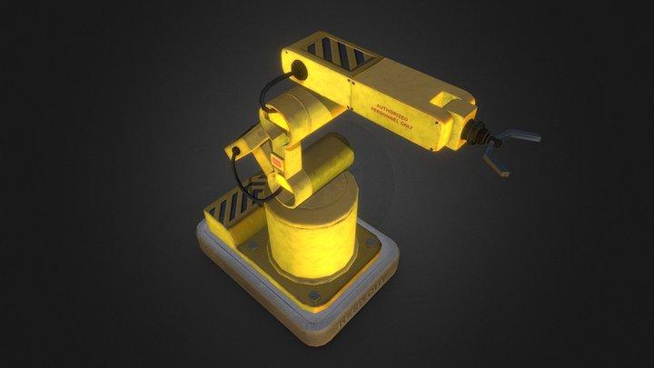 Robot Hand Modeling 3D Model