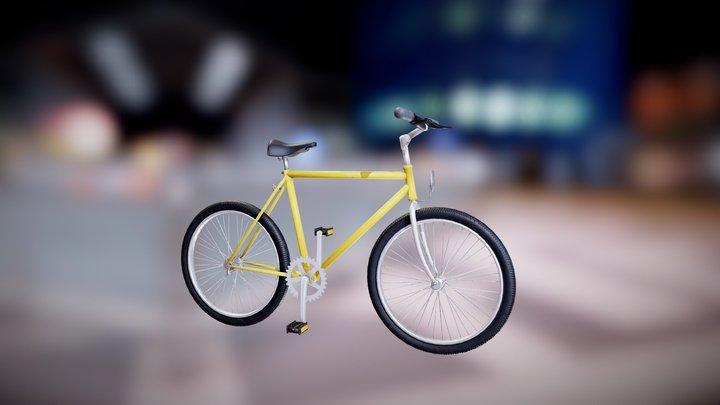 Road Bike 3D Model