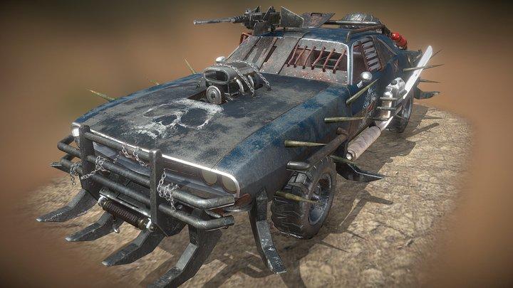 Roadkill Scum 3D Model
