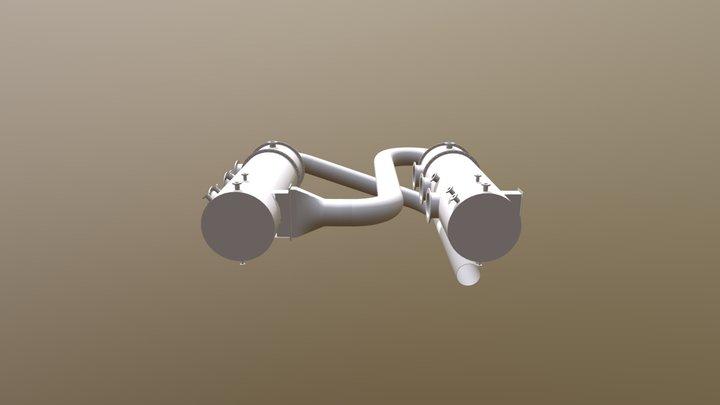 Pergan Scrubber Set Up 3D Model