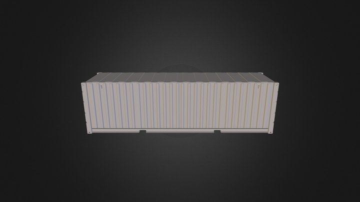 The container the first(shipping container) 3D Model