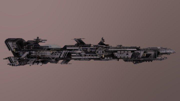 Spaceship Longford 3D Model