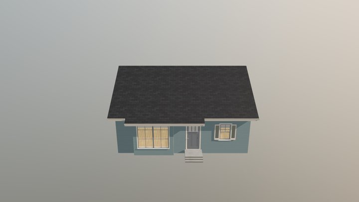 Bungalow The Chase 3D Model