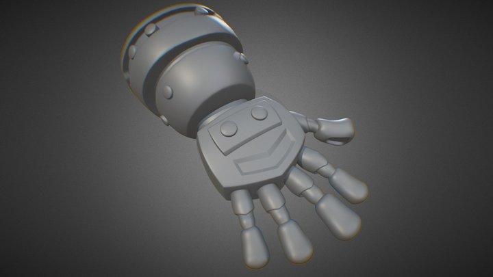 Glove Test 3D Model