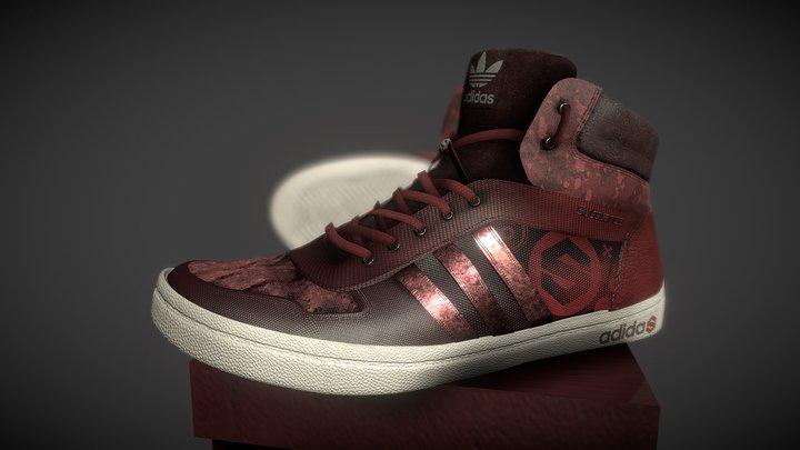 Adidas SUBTANCE PAINTER #ShoesTexturingChallenge 3D Model