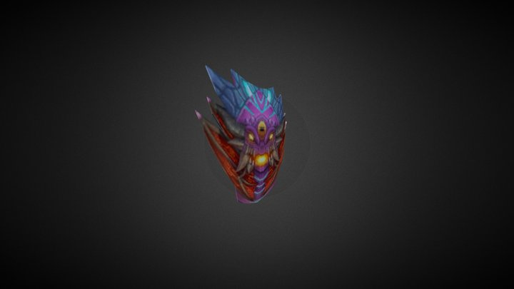 Demon Shield - Noob 3D Model