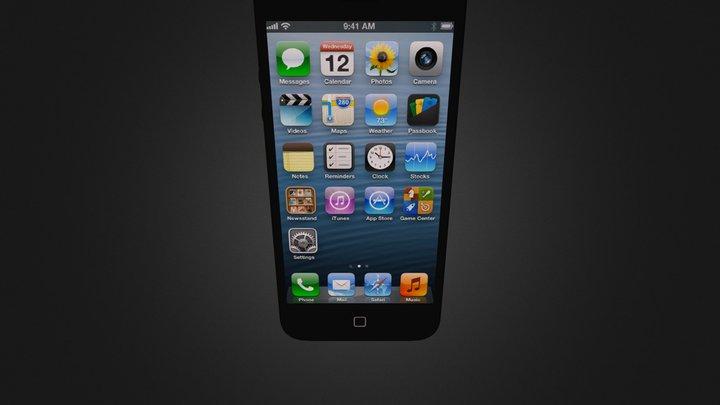 Iphone5 3D Model