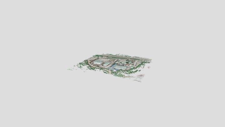 Sepon Mine Admin Building 3D Model
