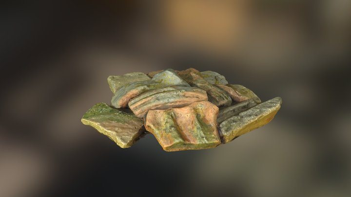 Medieval Pottery C12 - C14 3D Model