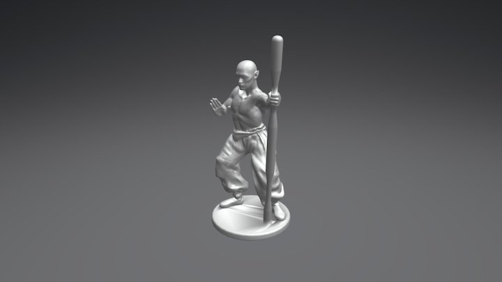 Gregor 3D Model