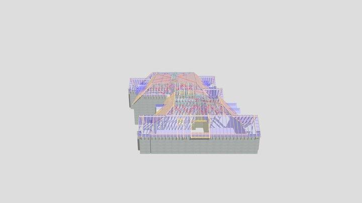 P12565D Block A 3D Model