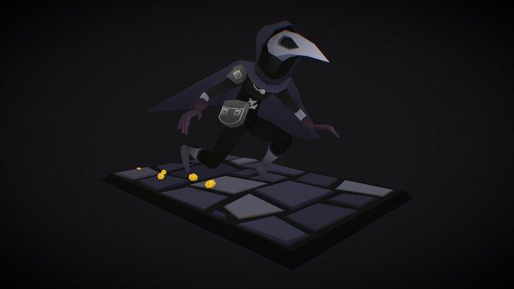 Card Thief 3D Model