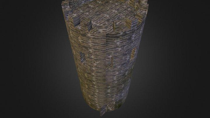 Village Tower 3D Model
