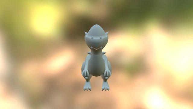 Rampardos - Pixelmon 3D Model