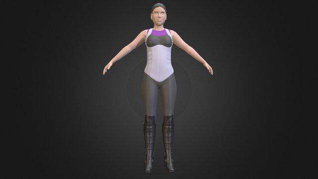 Blenderella 3D Model
