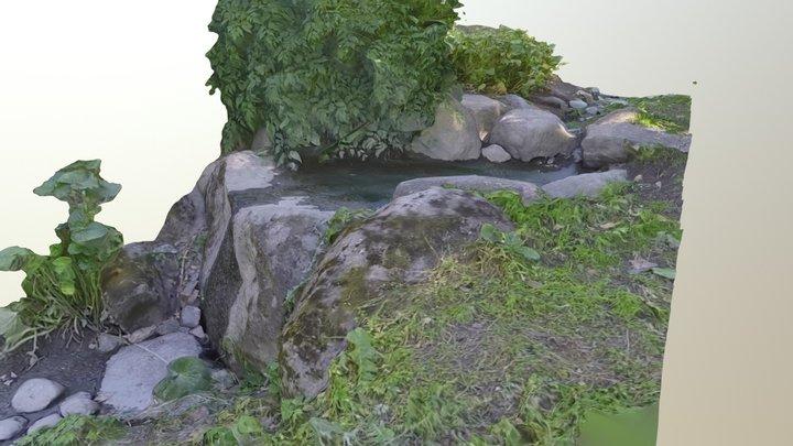 True landscape 3D Model