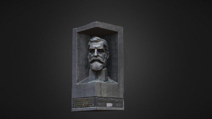 King Ferdinand I - Regele Ferdinand I 3D Model
