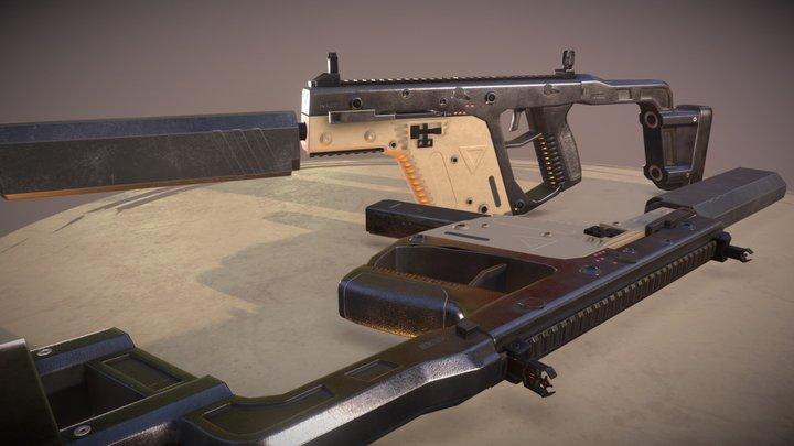 Vector in Scene 3D Model