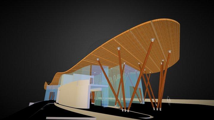 Tsingtao Pearl Visitors Centre 3D Model