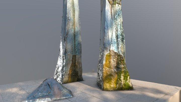 Käte Bloch Denkmal 3D Model