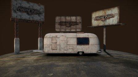 Motorhome (Engine Roar game) 3D Model