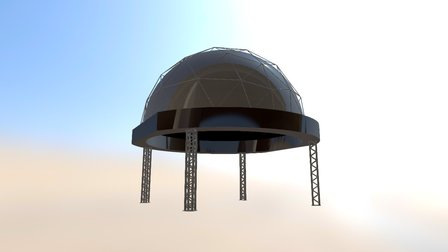 DomeLab Dome 3D Model