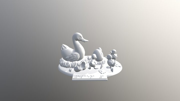 Primera Escena 3D Model