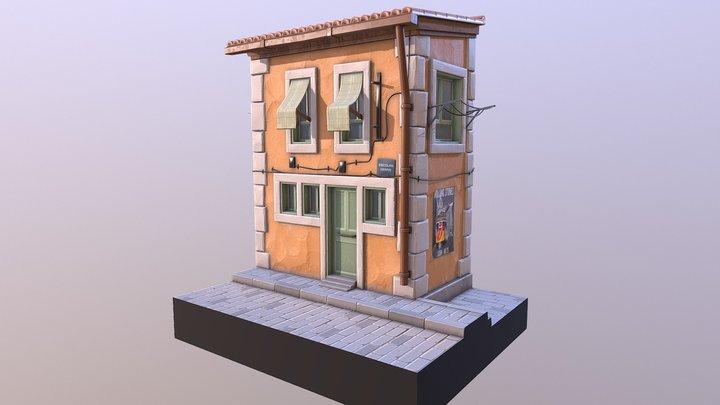 Lisboa House 3D Model