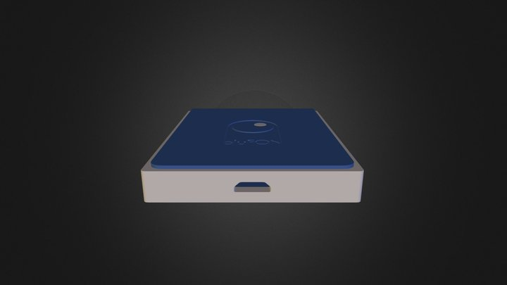 BluFON option1 3D Model