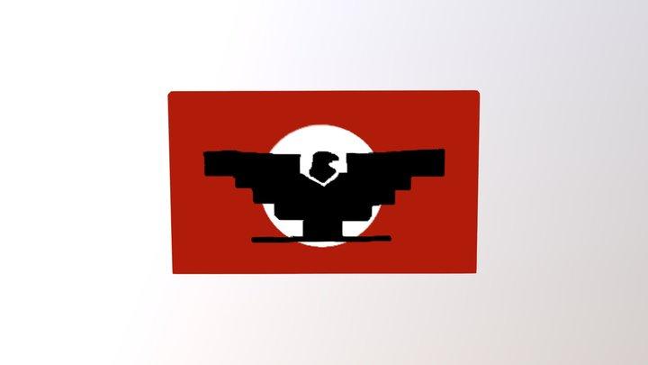Chavez Flag 3D Model