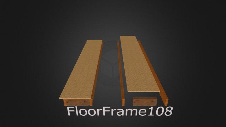 floorframe108 per 3d 3D Model
