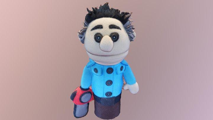 Ash Vs Evil Dead - Ashy Slashy Puppet 3D Model