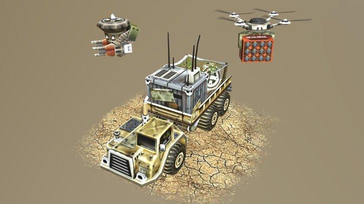 Recycler USA-Tier 1 3D Model