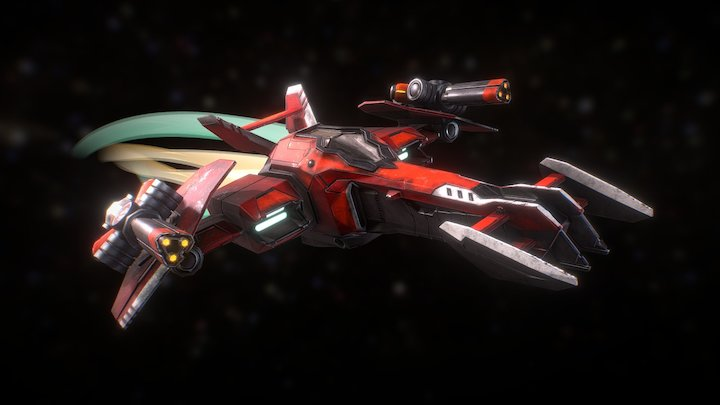 Spaceship from StarLink : Battle for Atlas 3D Model