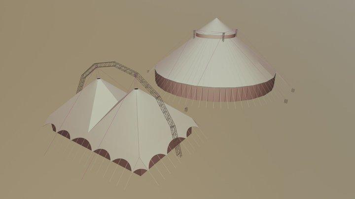 Job N23 Bellucci Circus 3D Model