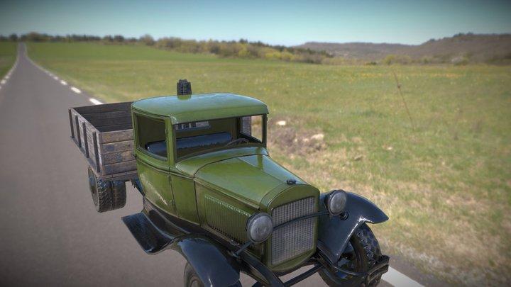 GAZ AA Truck 3D Model