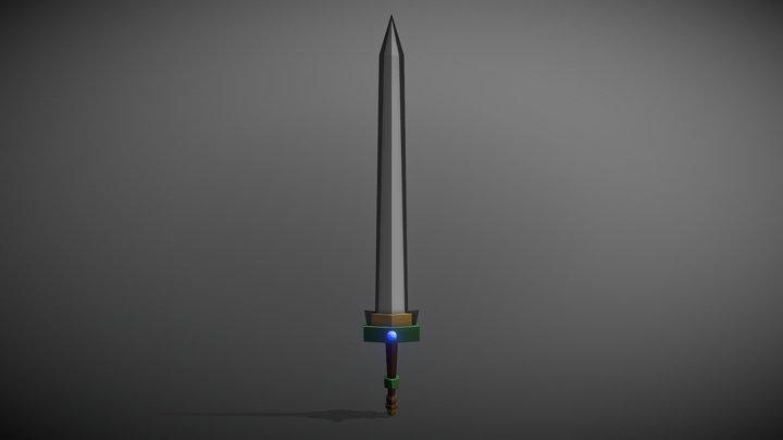 My First 3D Model - Generic Sword 3D Model
